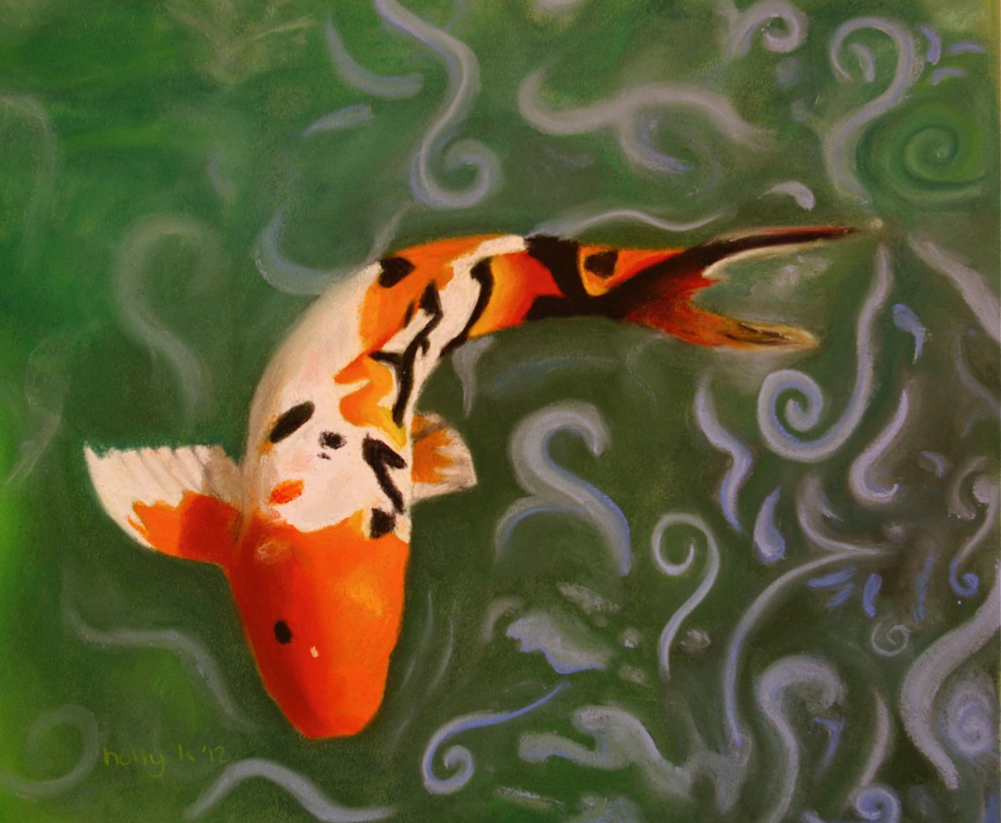 H. Karda - Koi Fish - Teen Class