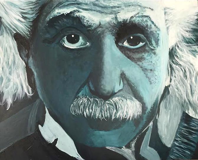S. Tyl - Einstein - Acrylic - Teen Class - Study