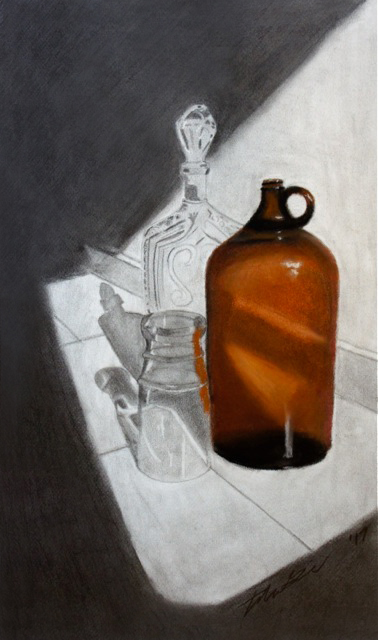 T. Graziani - Glass - Graphite and Pastel - Teen Class