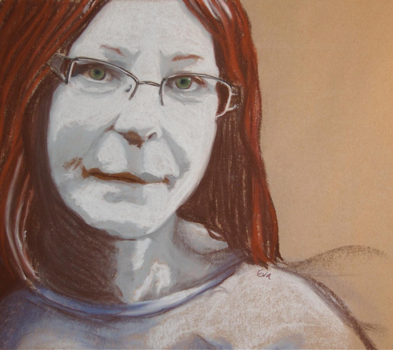 E. Smarda-Carney - Easter Sunday - Self Portrait - Adult Class