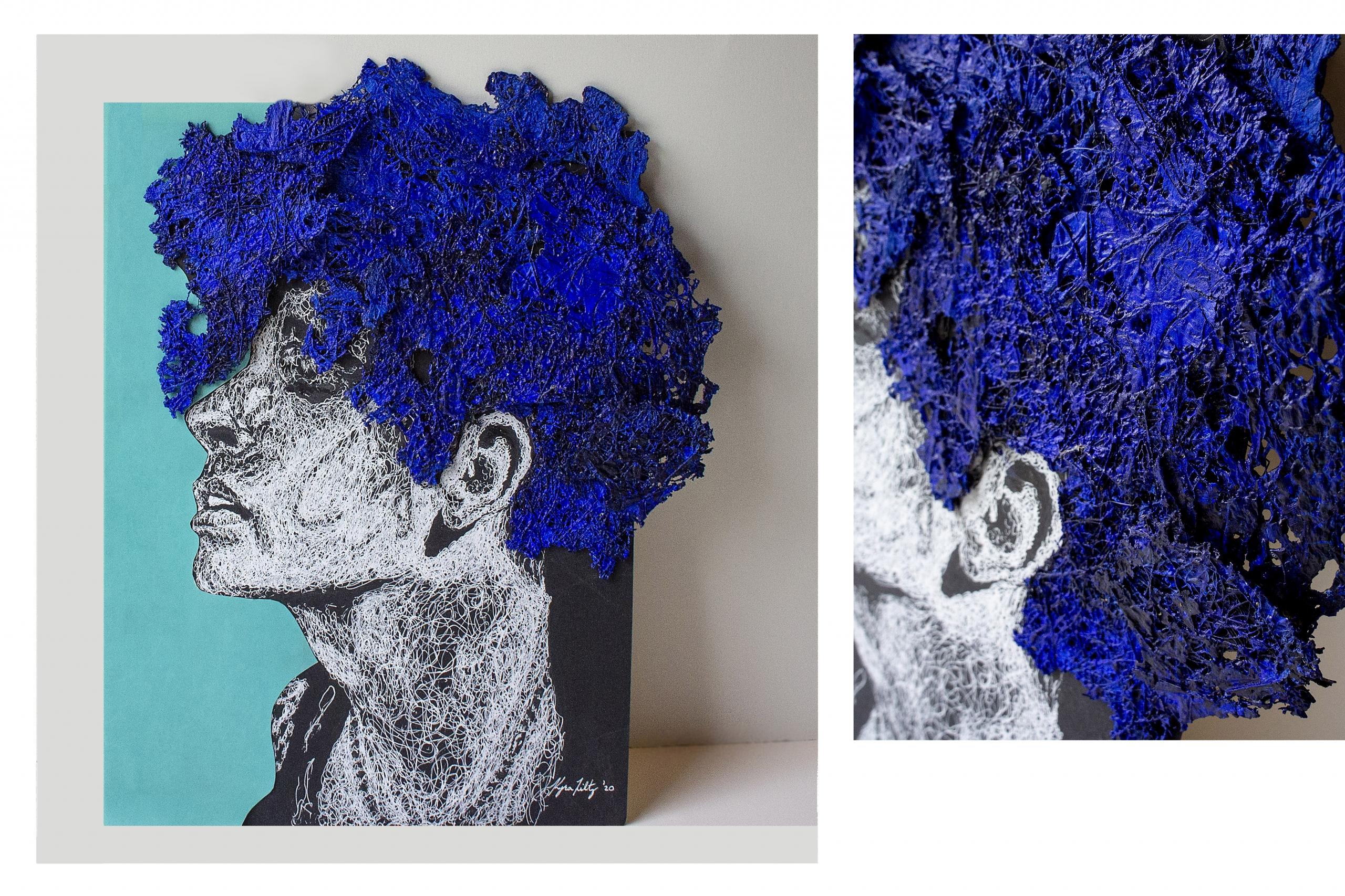 K. Hiltz - Blue Hair - Teen Class